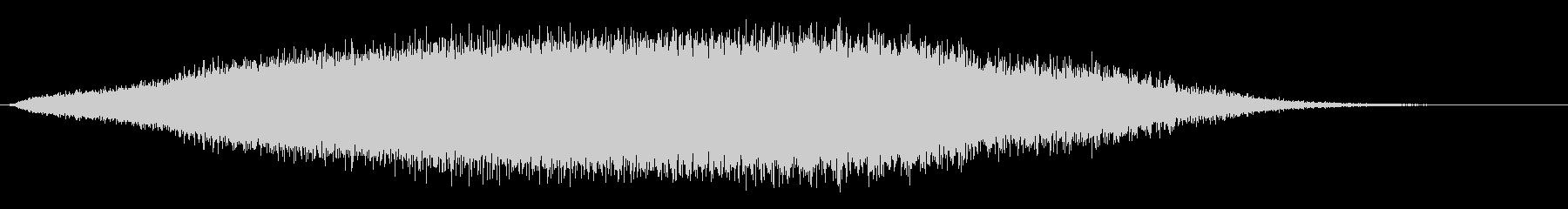 素材 ノイズスピンダウンドロップ01の未再生の波形