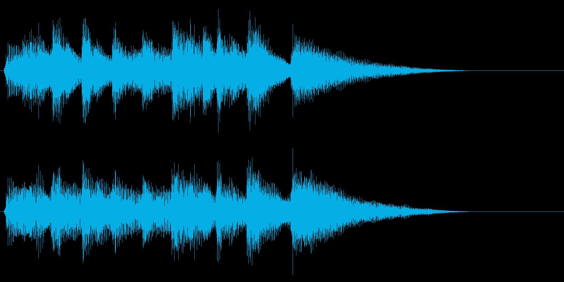 南国SE2 ゲームオーバーの再生済みの波形