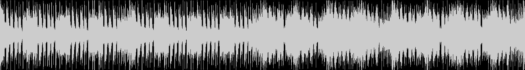 和風でアップテンポなドラムンベースの未再生の波形