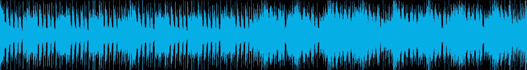 和風でアップテンポなドラムンベースの再生済みの波形