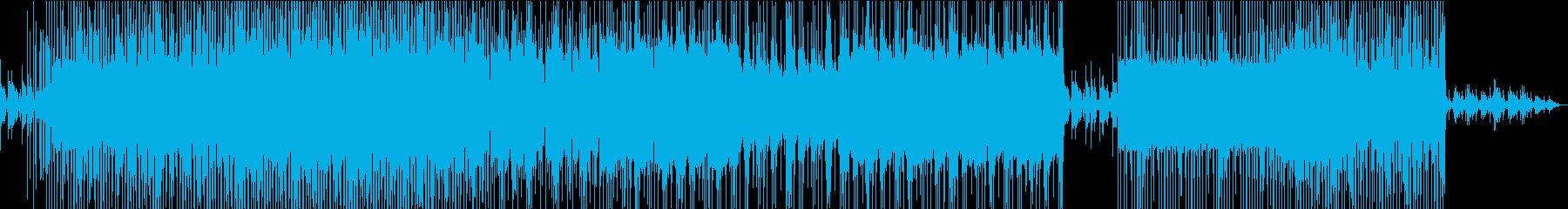 サイバーパンク✖️中華の再生済みの波形