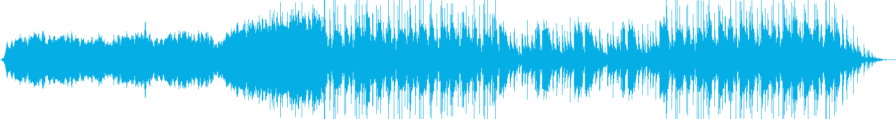 バイオリンやチェロが響く神秘的なBGMの再生済みの波形
