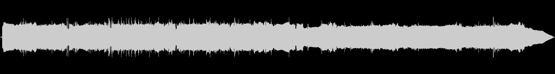 気性タントラン移行の未再生の波形