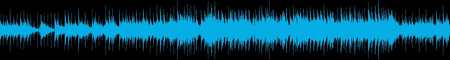 少し切なさのある感動系バラード(ループ)の再生済みの波形