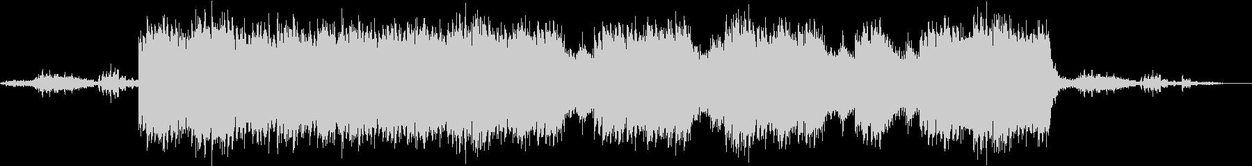 不気味な海底のサスペンスBGM(劇伴)の未再生の波形