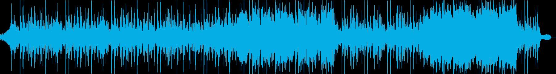 悲しく不気味なピアノ旋律の再生済みの波形