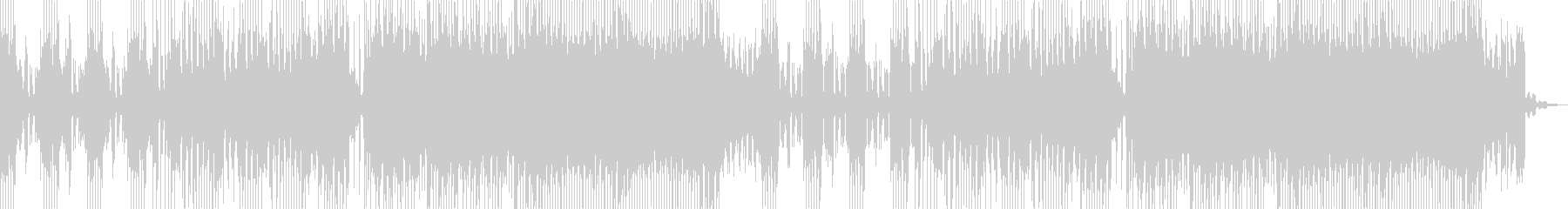 伝統とEDMの融合 三味線EDMの未再生の波形