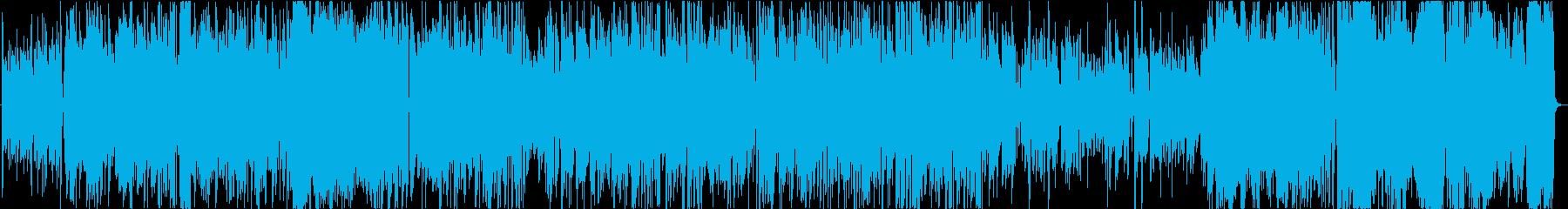 標準ジャズ。スイング。速い。の再生済みの波形