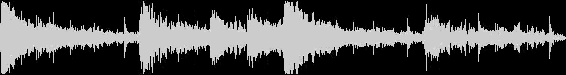 <ショートループ> ピアノ③+ビートCの未再生の波形