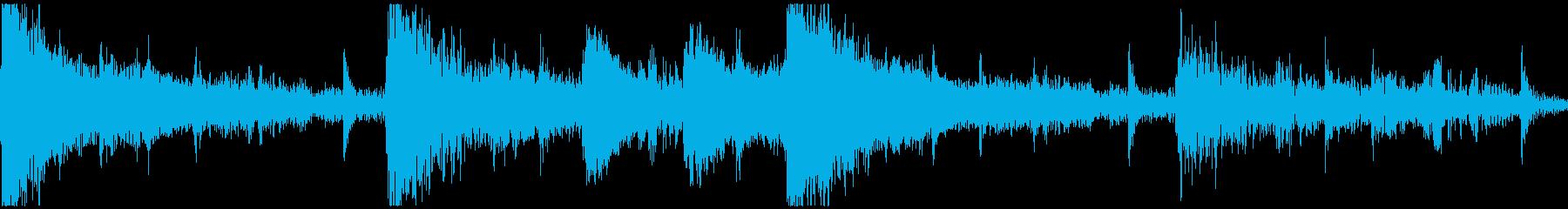<ショートループ> ピアノ③+ビートCの再生済みの波形