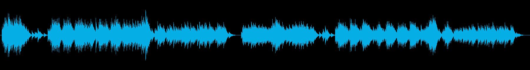 闇深き思い出のオルゴールの再生済みの波形