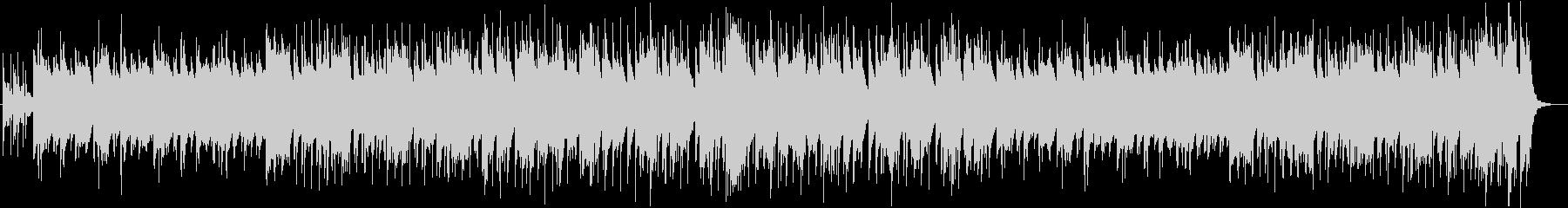 カジノをイメージしたビッグバンドBGMの未再生の波形