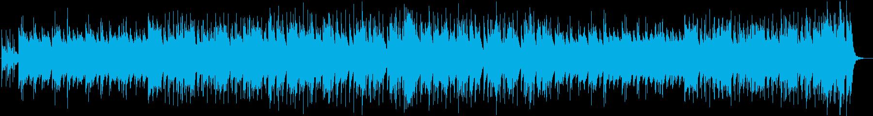 カジノをイメージしたビッグバンドBGMの再生済みの波形