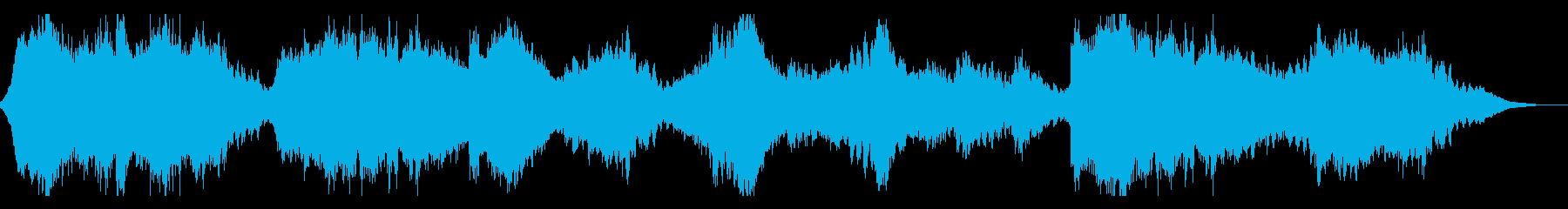 不気味なSF風サウンドスケープの再生済みの波形