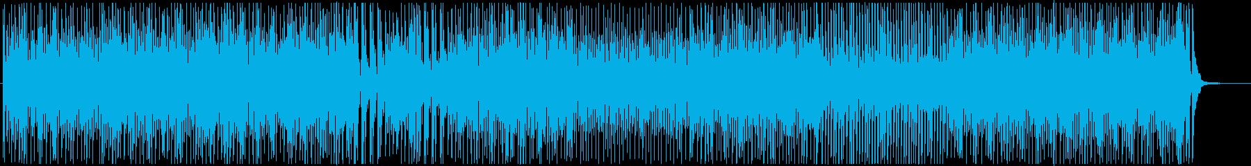テーマパークジャズ-ポップなディキシー♫の再生済みの波形