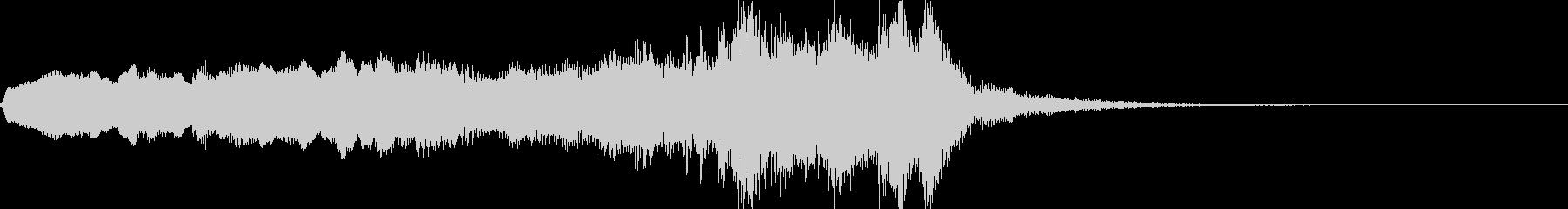キャラクターに用いる楽曲の未再生の波形