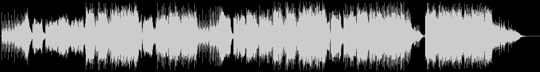 民族楽器の笛を生で収録した和風曲の未再生の波形