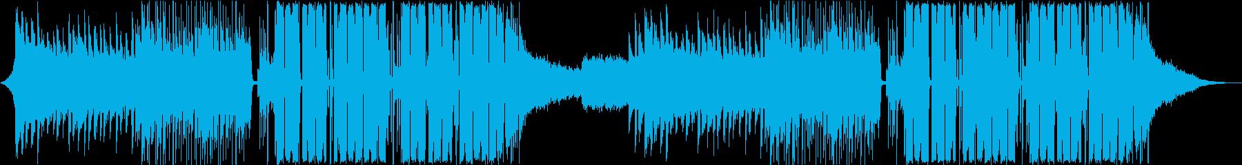 明るく爽やかなEDMの再生済みの波形