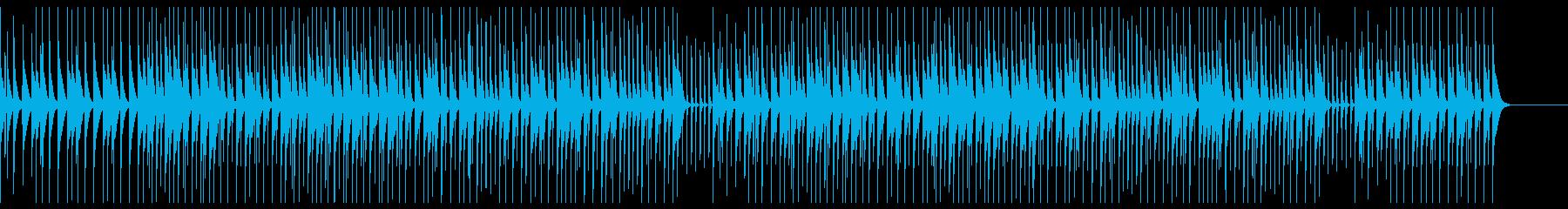 わくわく・ほんわか日常BGM(マリンバ)の再生済みの波形
