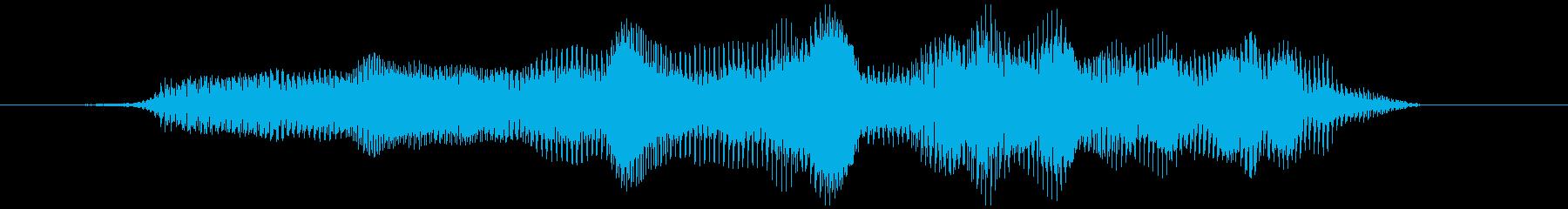 グラビティチューブ(上昇)ウミューィの再生済みの波形