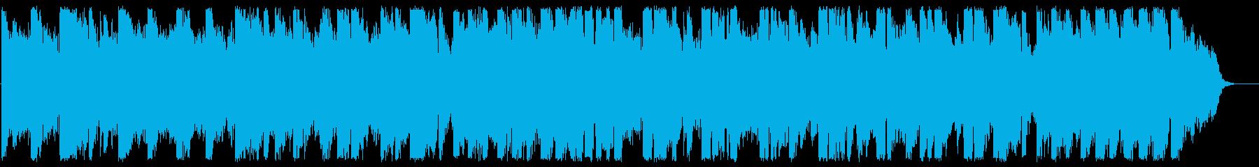 フルートが奏でる情景的なBGMの再生済みの波形