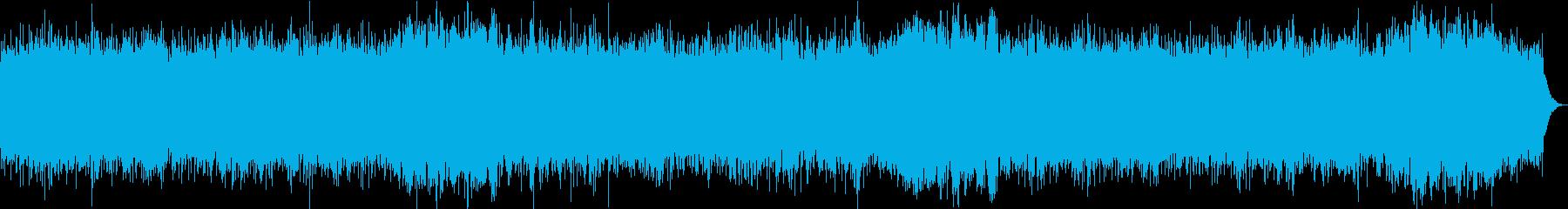 おだやかキラキラ/カラオケの再生済みの波形