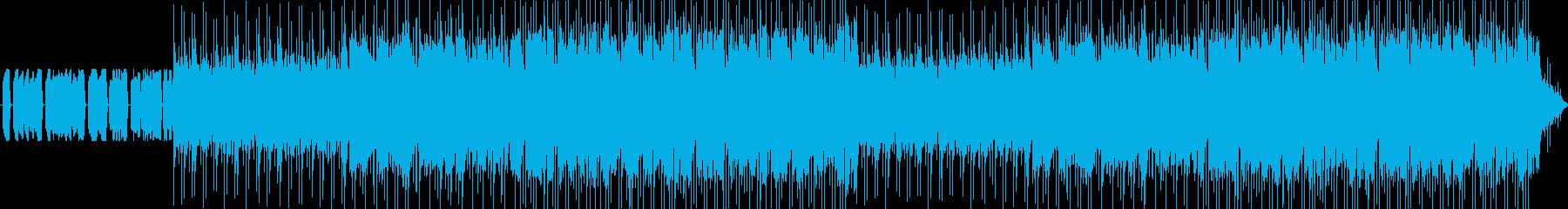 チップチューンによるアニソン風ポップスの再生済みの波形