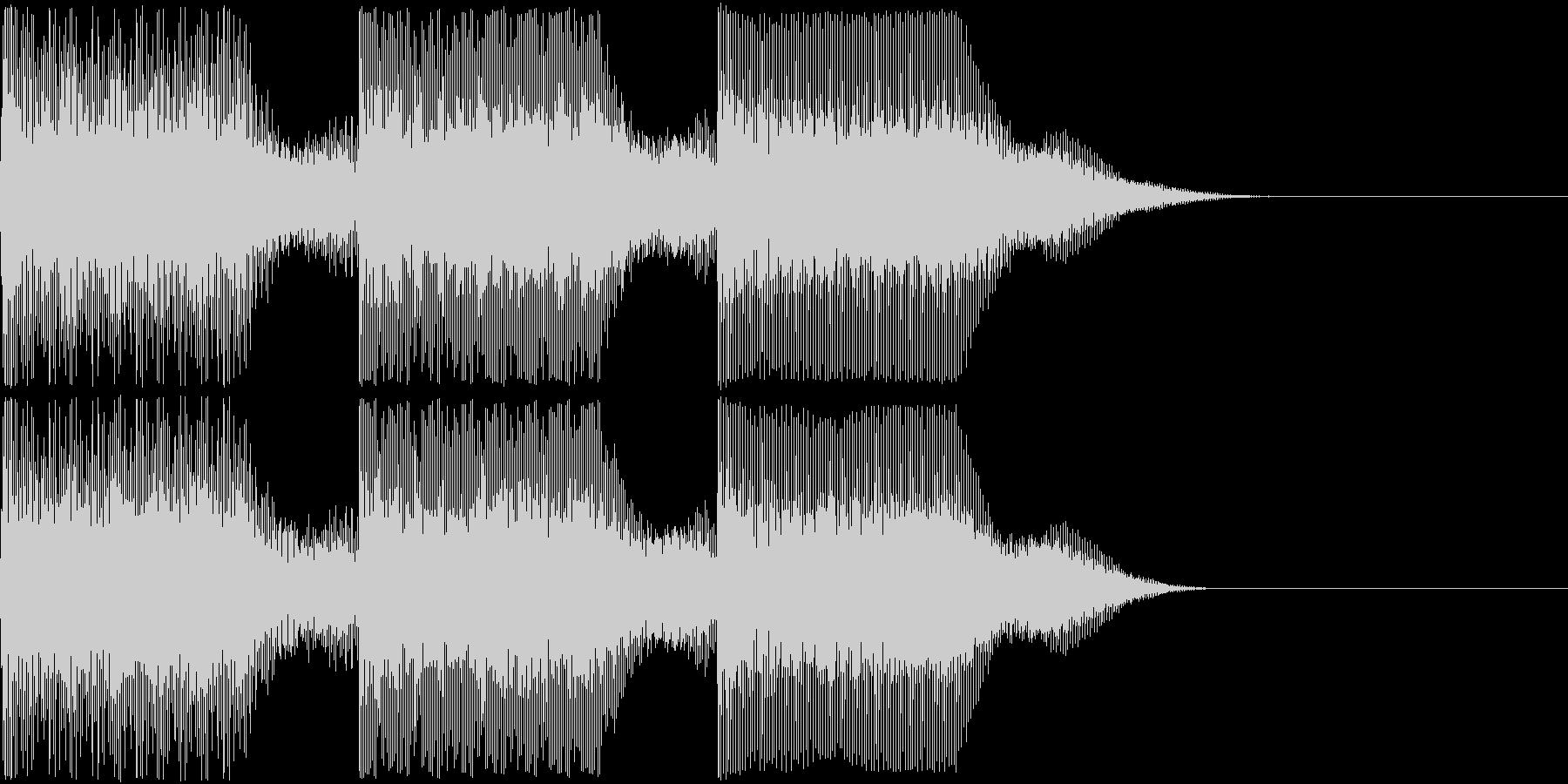 AI メカ/ロボ/マシン動作音 1の未再生の波形