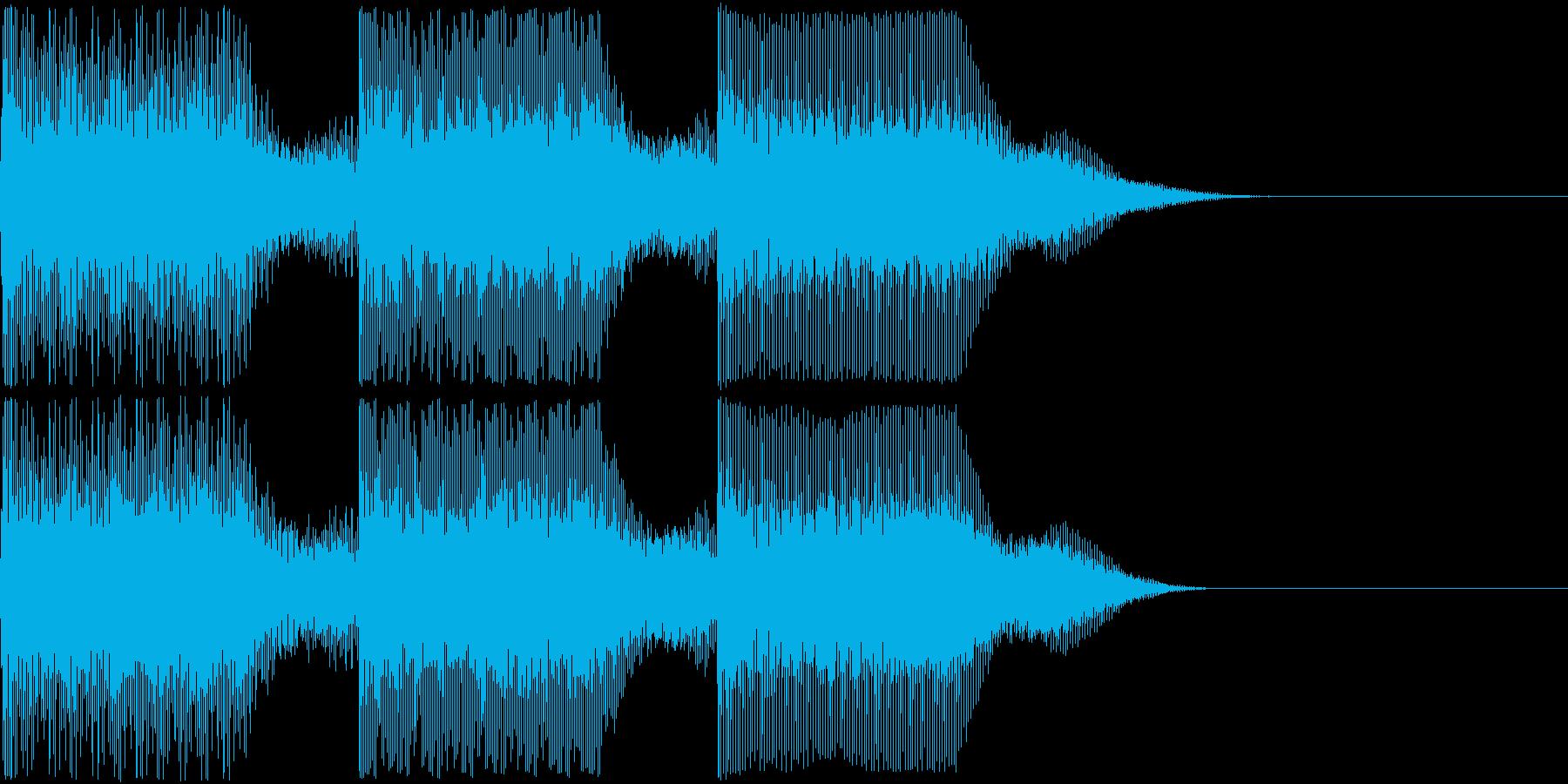 AI メカ/ロボ/マシン動作音 1の再生済みの波形