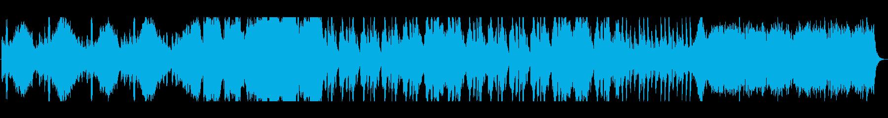 ダイナミックでエネルギッシュなオー...の再生済みの波形