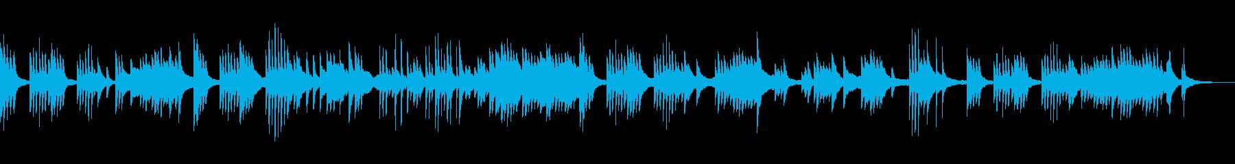 夏の夕暮れ 切ない ピアノソロの再生済みの波形