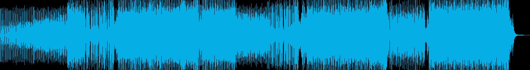 シュワッとしたシンセが爽快なEDM B2の再生済みの波形
