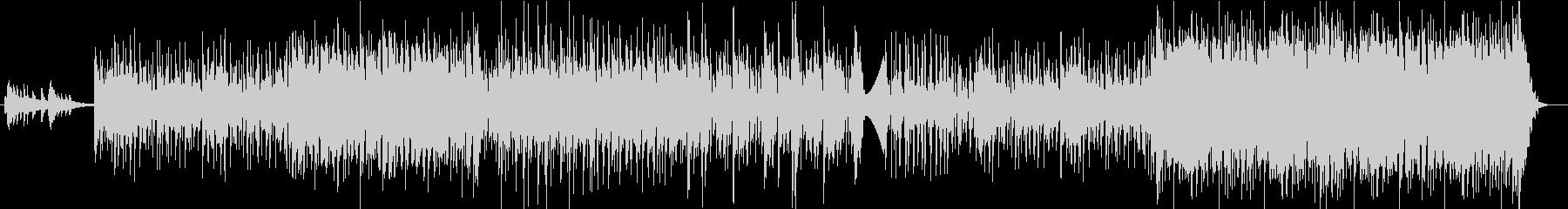 カッティングギター・踊れるフュージョンの未再生の波形