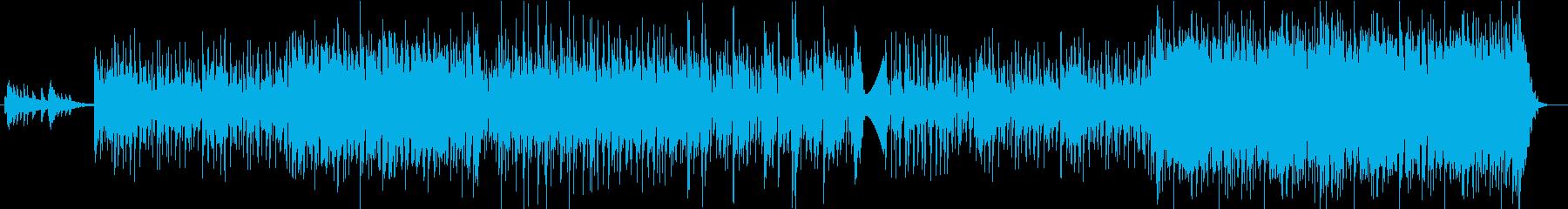 カッティングギター・踊れるフュージョンの再生済みの波形