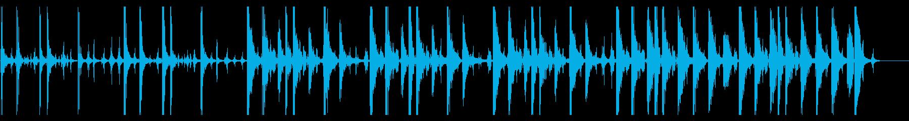 KANTハンズクラップシジングル2の再生済みの波形