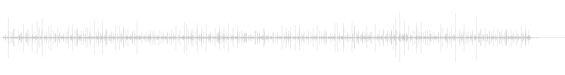 馬-グレイヴル-連続-散歩の未再生の波形