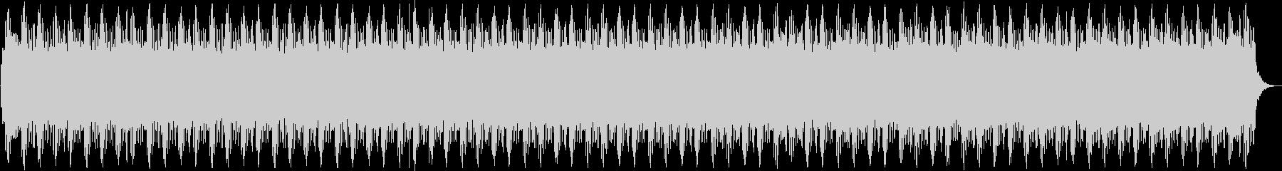 60秒ほどの長さの警報音の未再生の波形