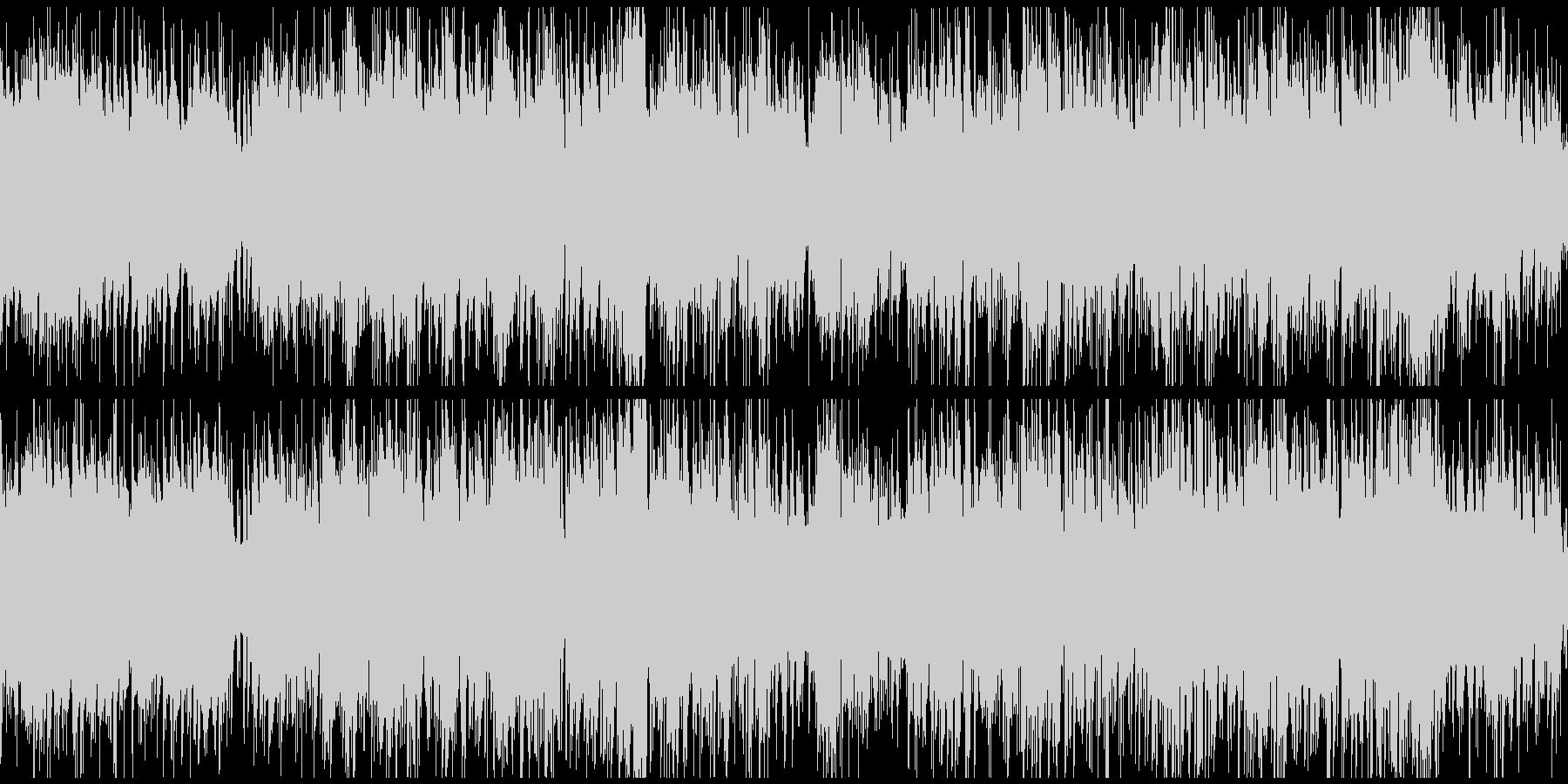 アップテンポなインテリ系ボッサ※ループ版の未再生の波形