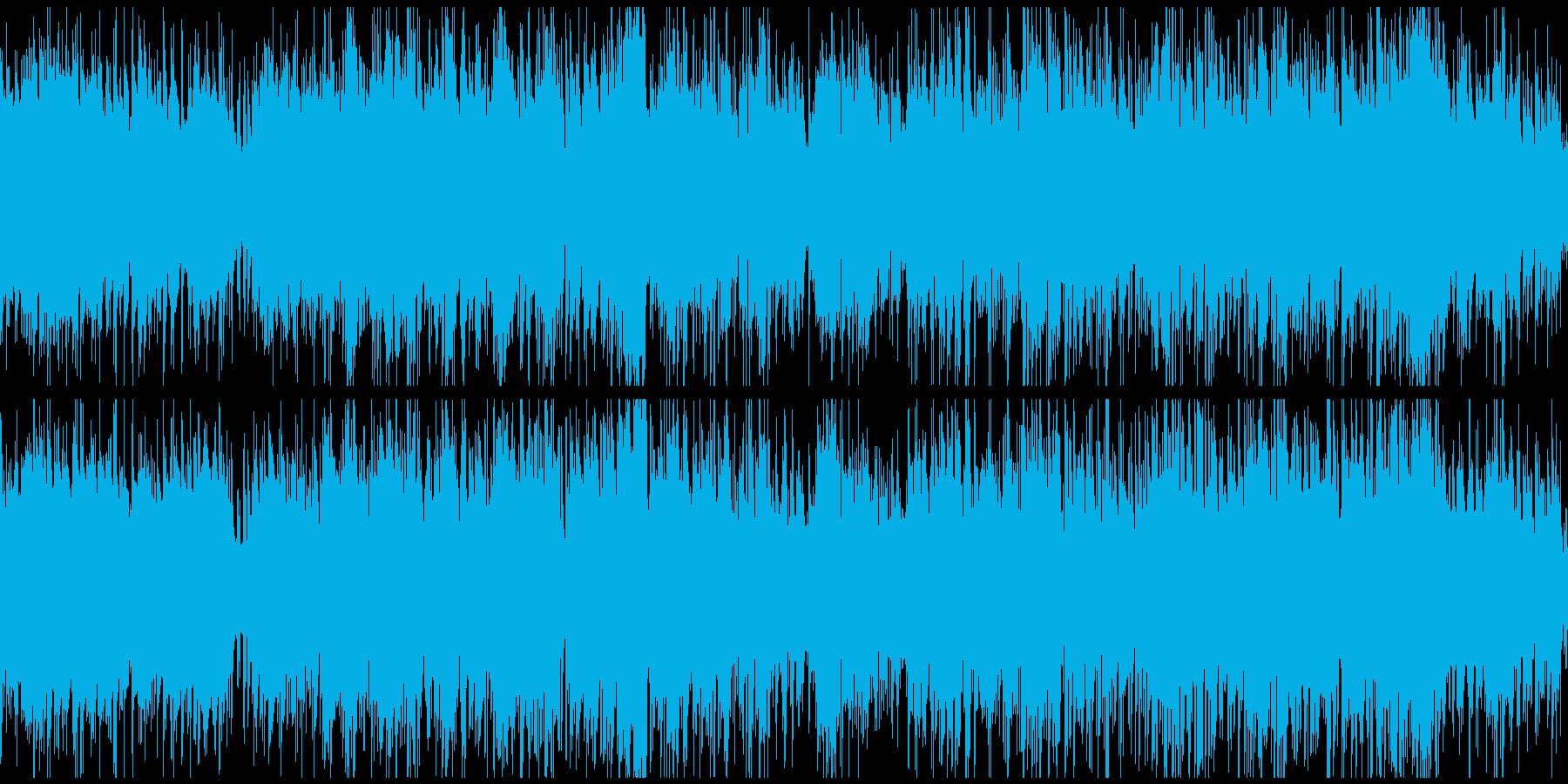 アップテンポなインテリ系ボッサ※ループ版の再生済みの波形