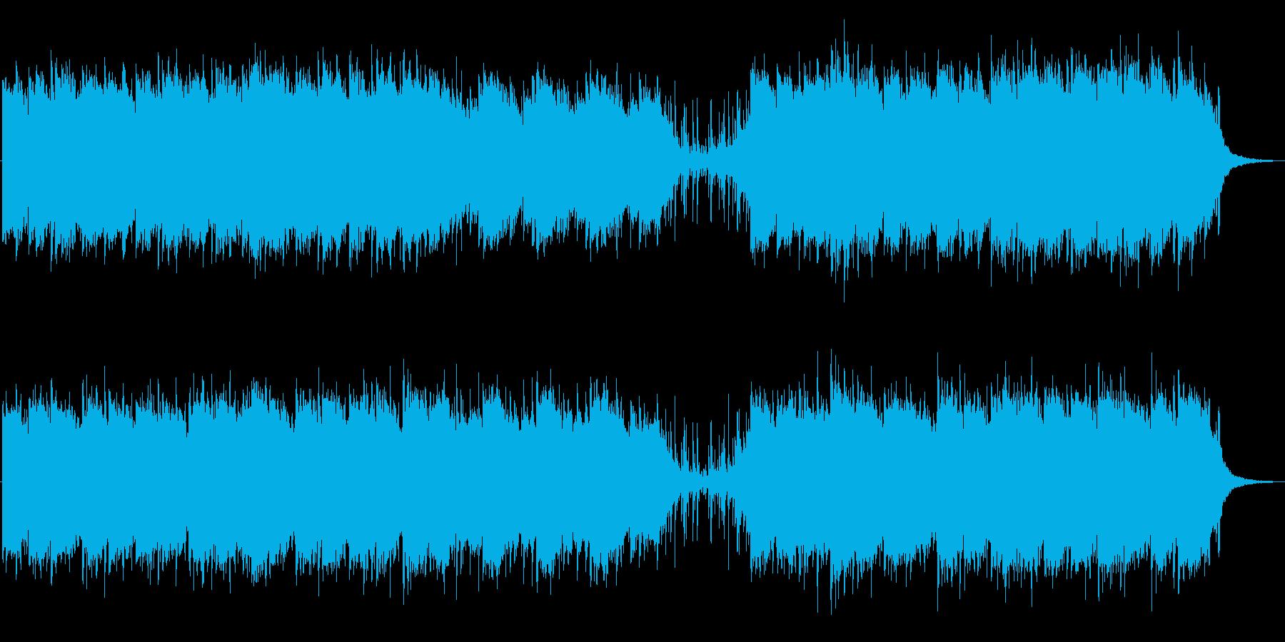 哀愁漂うチルアウトローファイの再生済みの波形