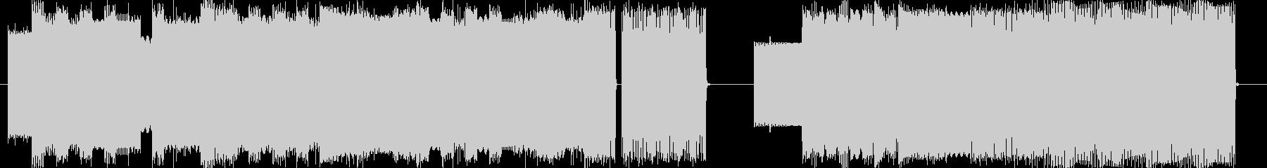 ファミコン系ピコピコ音お笑い動画映像にの未再生の波形