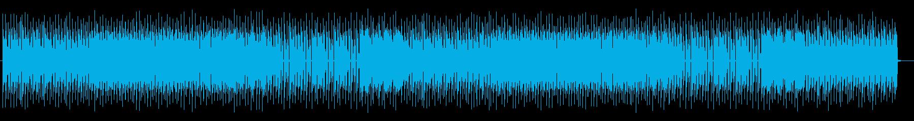 テクニカルでクールなエレキサウンドの再生済みの波形