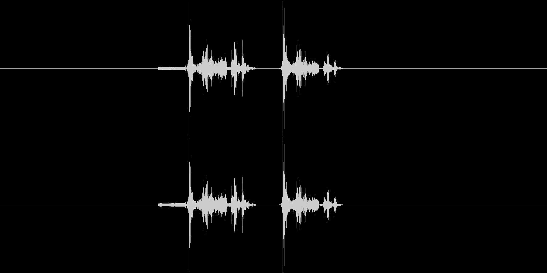 デジカメ風シャッター音_03の未再生の波形