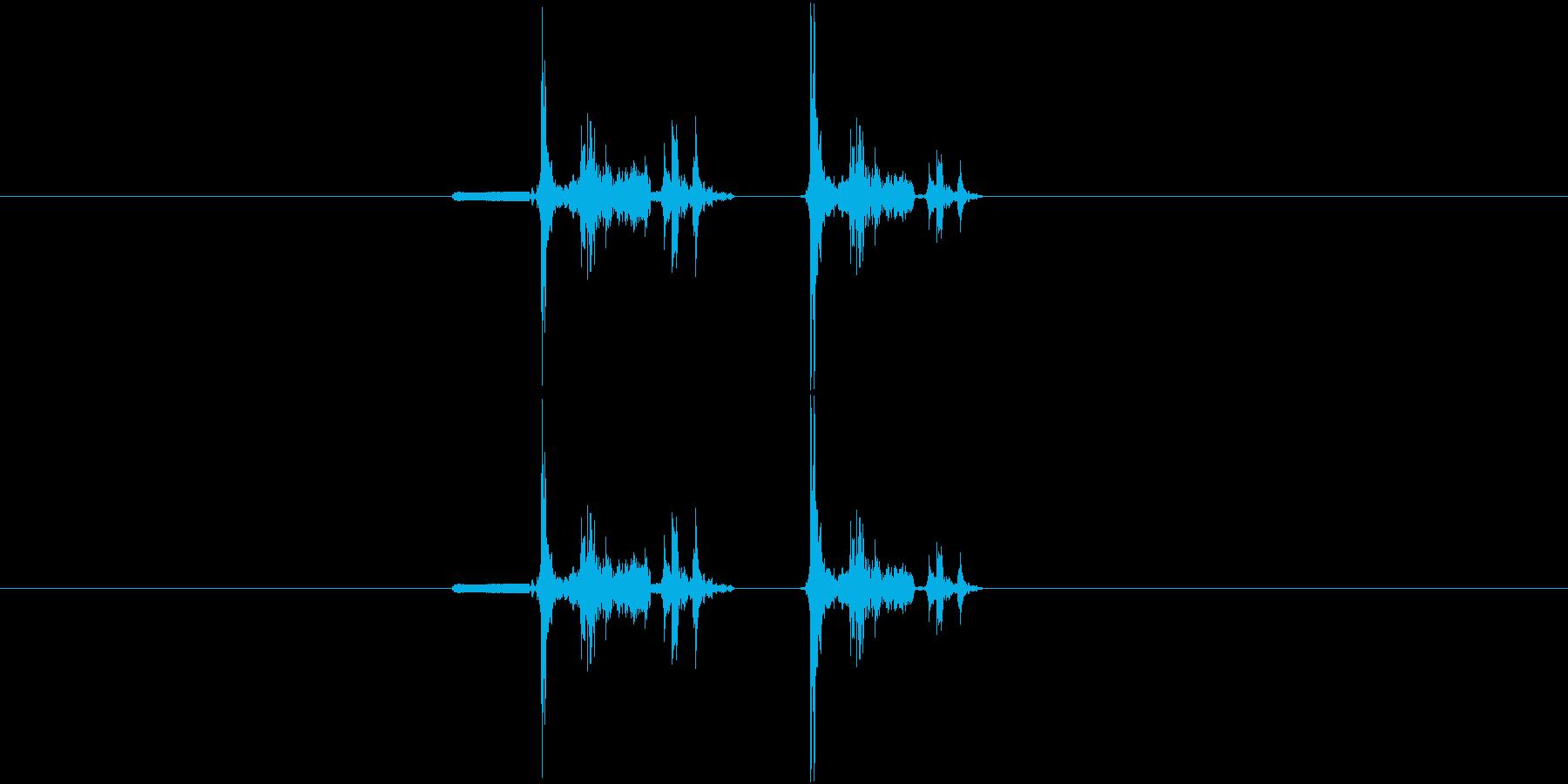 デジカメ風シャッター音_03の再生済みの波形