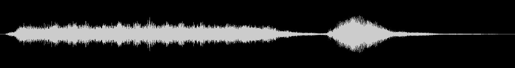 クラシックなジングルの未再生の波形
