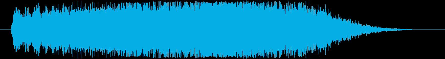 エレクトロ_ハイクオリティージングル_5の再生済みの波形