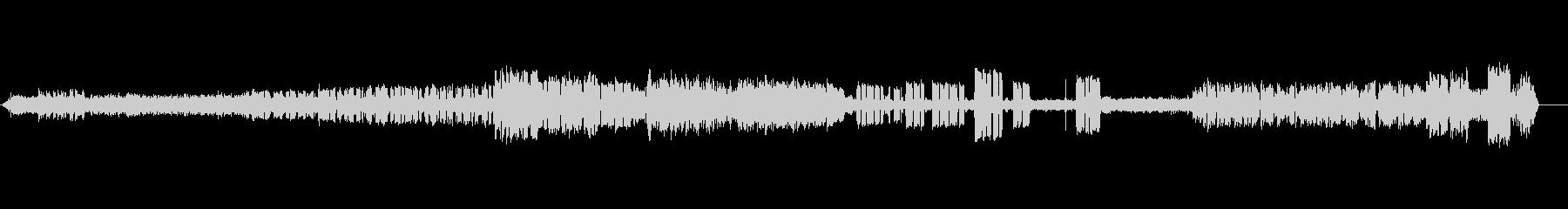 ラジオルーム-アンビエンス-電信の未再生の波形