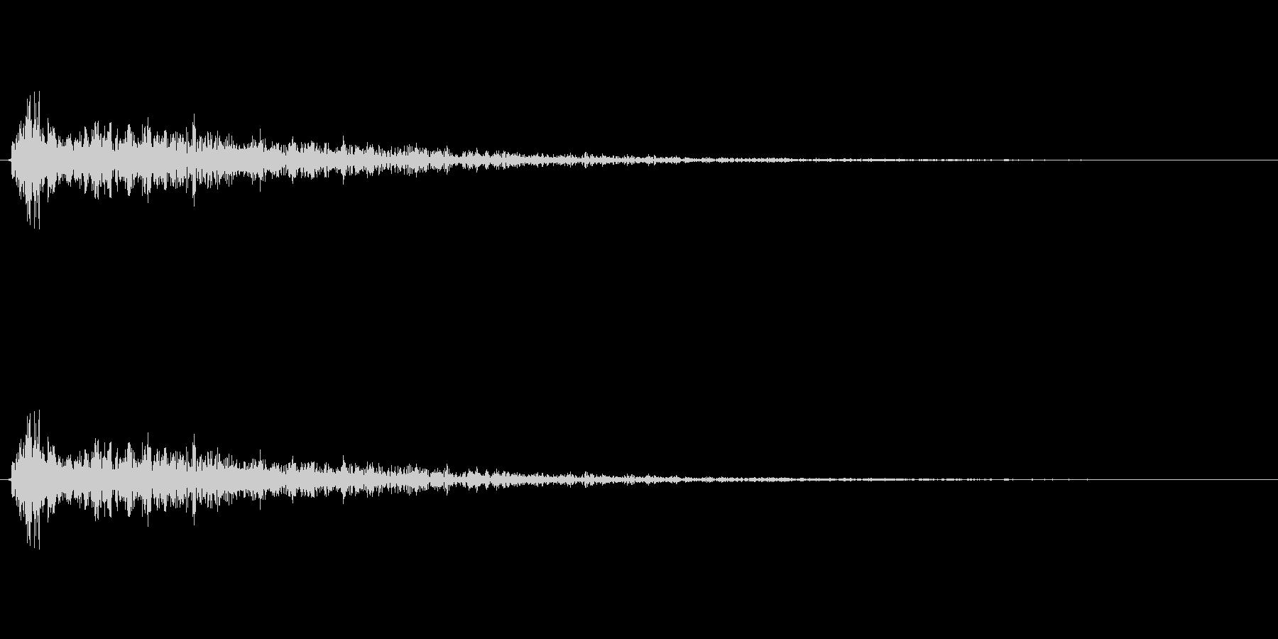サウンドロゴやゲーム・映像・CMなど の未再生の波形