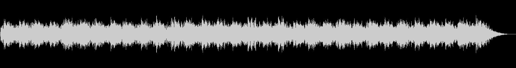 不気味な旋律のピアノBGMの未再生の波形