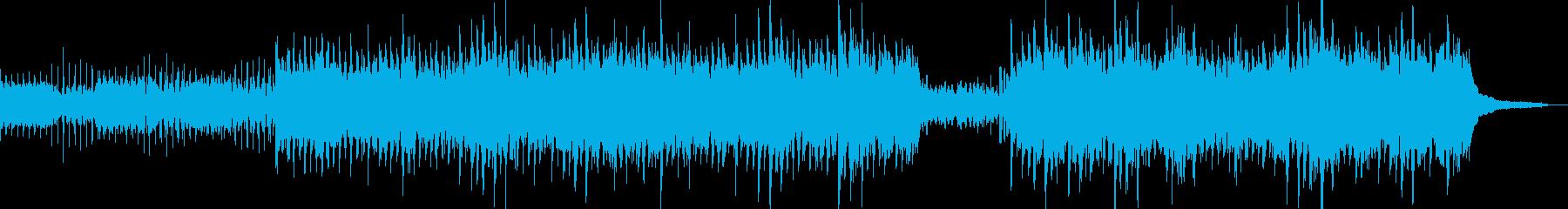 電気楽器。周囲の瞑想的な刺激。優れ...の再生済みの波形